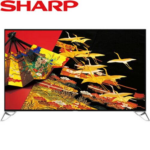 SHARP 夏普 LC-80XU35T LED液晶電視 80吋 4K 連網 日本原裝