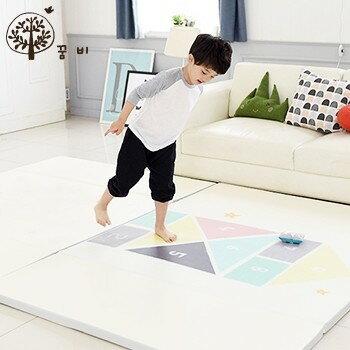 NANABABY:【韓國DreamB】折疊式防撞遊戲地墊-跳格子#DB002
