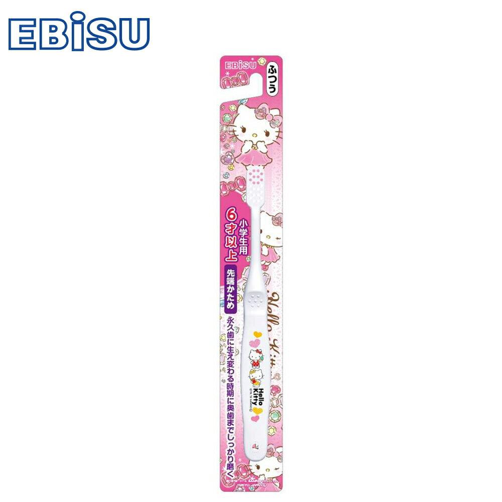【EBiSU】Hello Kitty 6歲以上兒童牙刷B-S30