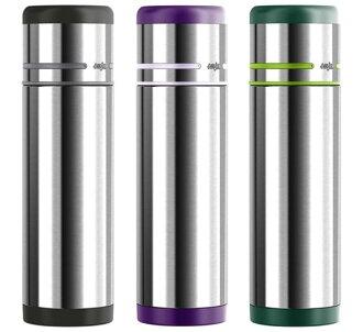 德國EMSA 隨行保溫瓶-0.5L 翠綠(512959)/銀灰(509237)/紫羅蘭(509226) 德國 - 限時優惠好康折扣