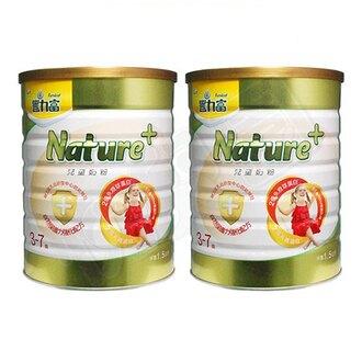 【2罐組】豐力富 金護 nature+ 4號兒童成長奶粉 3-7歲 1.5kg*2罐-022111