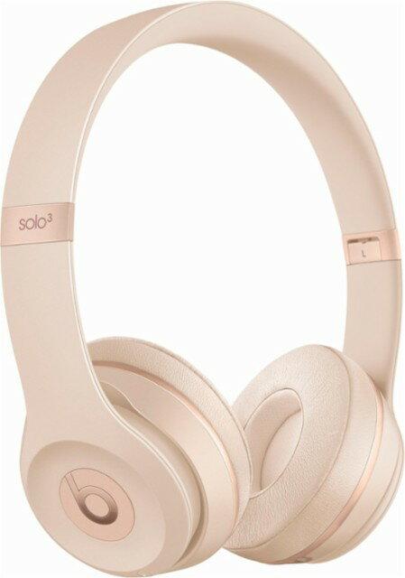 Beats by Dr. Dre - Beats Solo3 Wireless Headphones - Matte Gold 0