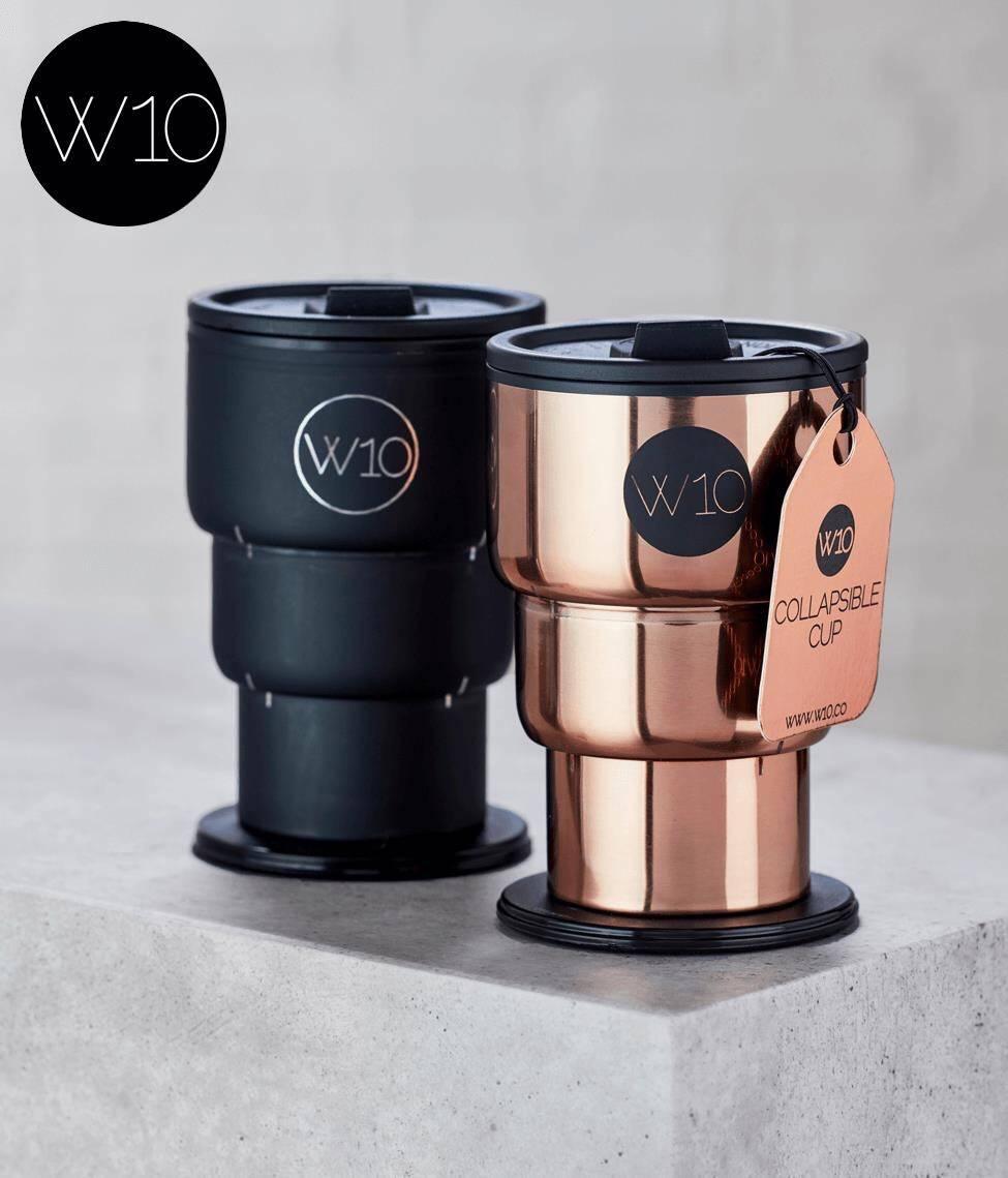 英國W10 全球首款不鏽鋼折疊杯🇬🇧喝飲料也要很貴氣