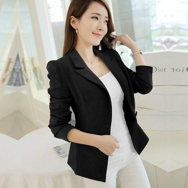 西裝外套【心齋橋】韓版新款氣質短版小西裝外套FAN1634(現+預)