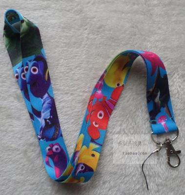 【憶童趣】動漫 海底總動員 創意掛繩 鑰匙扣 手機掛繩