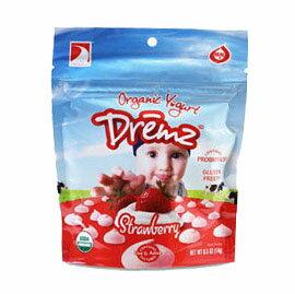 【悅兒樂婦幼用品舘】Dremz 佑爾康金貝親 有機嬰兒優格餅14g (草莓)
