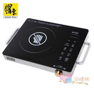 淘禮網  EH-9096-D 鍋寶觸控式不挑鍋電陶爐 加贈鍋寶玫瑰刀