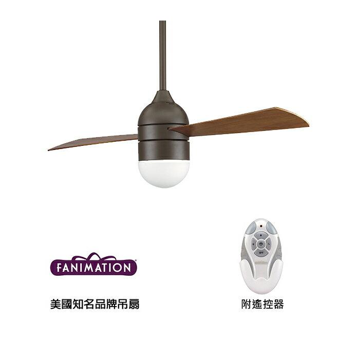 [top fan] Fanimation Involution #FP4520OB_LK4520OB 52英吋 兩葉吊扇(110V電壓)附遙控器-油銅色