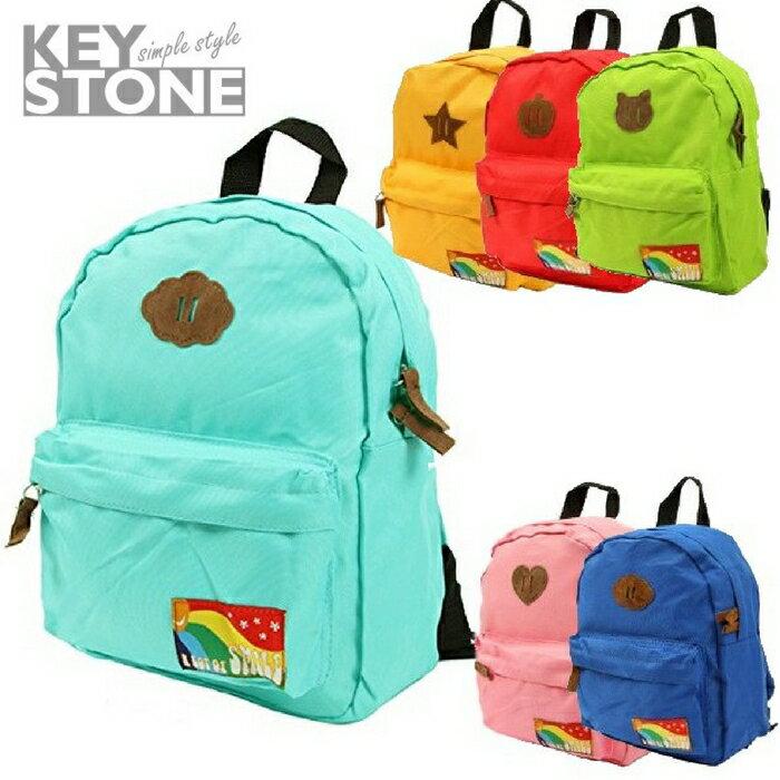 Woolala ★啦啦看世界★ 日本 Key Stone 輕量兒童背包(小) 遠足 出外 雨衣 上學 水壺 露營