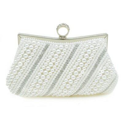 晚宴包珍珠手拿包-名媛優雅時尚精選女包包73su25【獨家進口】【米蘭精品】
