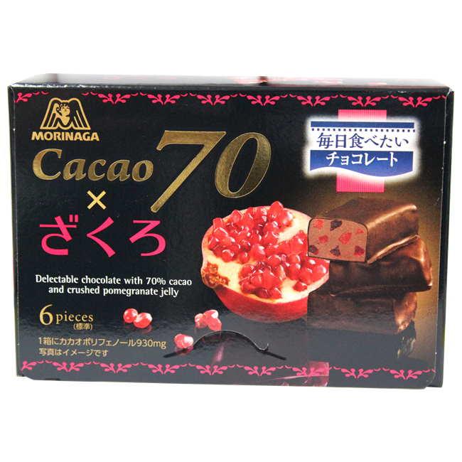 森永70%石榴巧克力