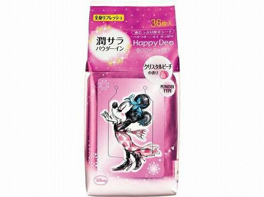 日本製 Mandom 米妮 乾爽潔膚濕紙巾 36枚入大包裝 粉紅桃香 *夏日微風*