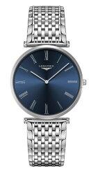 LONGINES L47664946 嘉嵐系列石英時尚腕錶/藍面 37mm