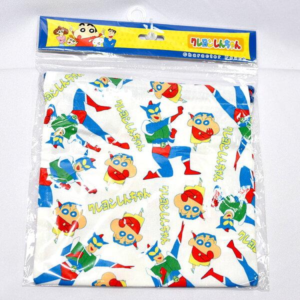 蠟筆小新動感超人束口袋日本帶回正版商品