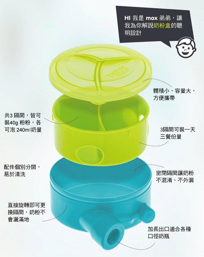 『121婦嬰用品館』Brother Max 奶粉分裝盒 (無漏斗) - 藍 4