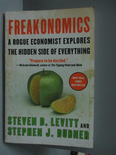~書寶 書T1/財經企管_ZEK~Freakonomics_Levitt Steven D