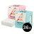 【36入特惠組平均1盒$75】台灣【Simba 小獅王】嬰兒乾濕兩用巾(80抽 / 盒)(藍 / 粉) - 限時優惠好康折扣