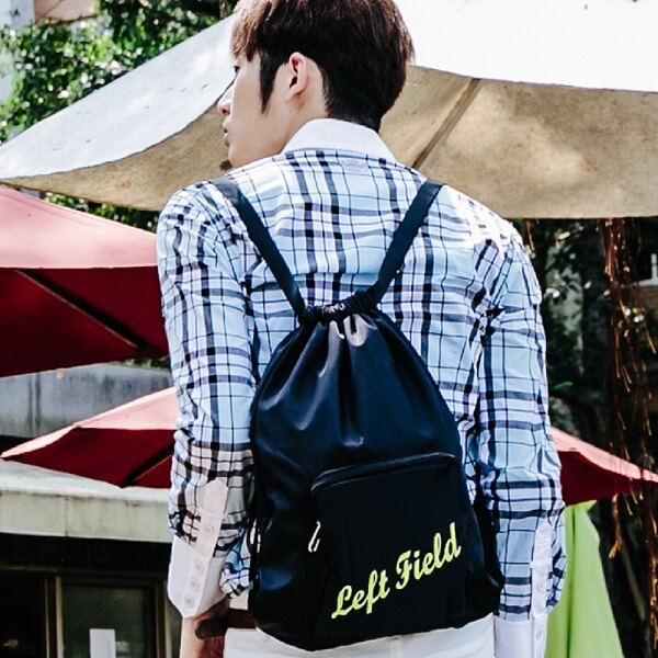 後背包 繽紛亮彩防潑水尼龍口袋束口包 NEW STAR BK168 9