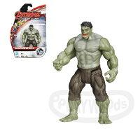 漫威英雄Marvel 周邊商品推薦【Playwoods】[復仇者聯盟2:奧創紀元] 3.75吋明星人物:狂暴浩克 Hulk (可動關節人偶/MARVEL漫威世界/Avengers:Age of Ultron/綠巨人/布魯斯班納/孩之寶Hasbro)