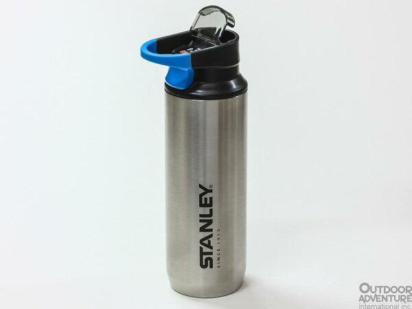 ├登山樂┤美國Stanley登山系列真空保溫水瓶0.47L黑色不鏽鋼兩色可選#10-02285
