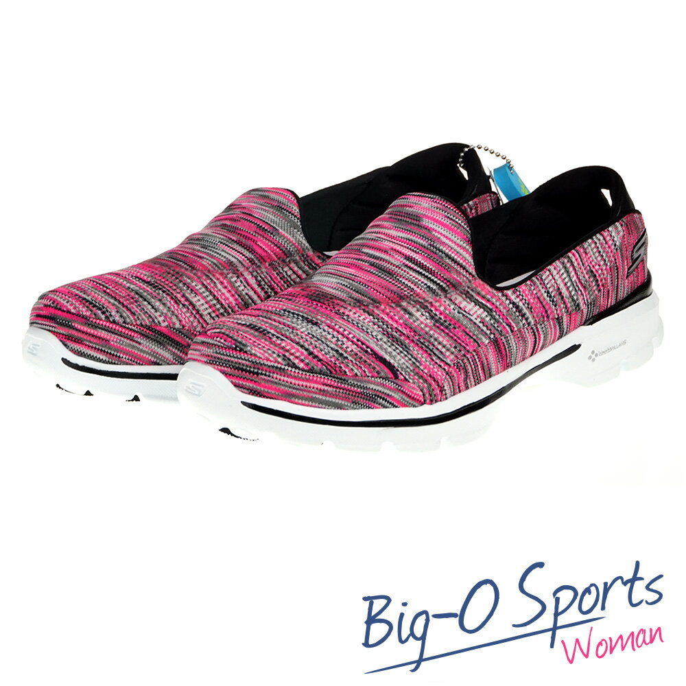 SKECHERS GO WALK 3 健走系列 女 14061HPBK Big-O Sports