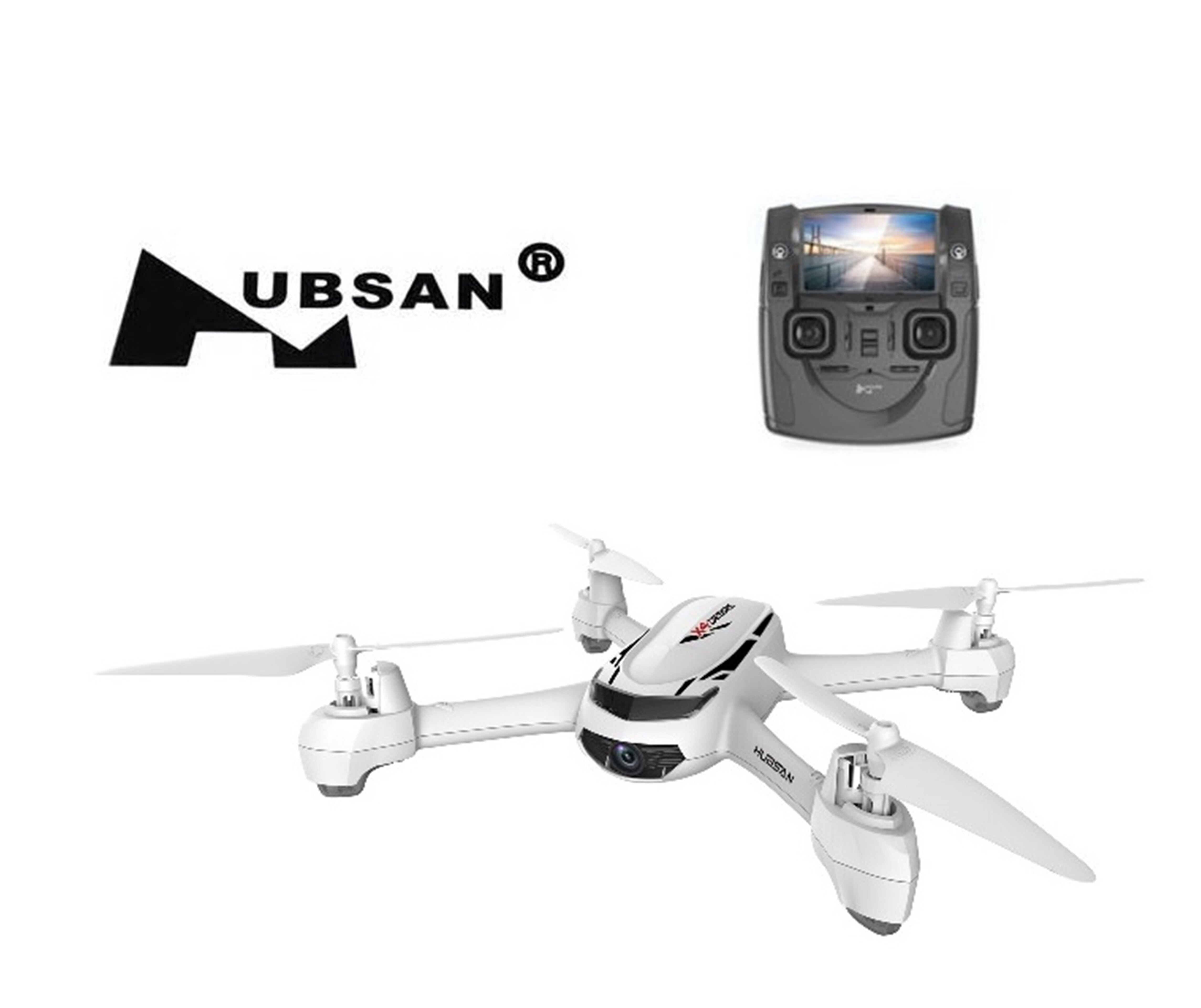 Hubsan X4 H502S FPV Real-time 5.8G GPS RC Quadcopter w/720P Camera Drone White 0