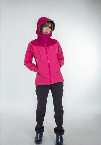【H.Y SPORT】EiDER 女款Gore-tex 多功能外套 7EIV4330 防風/防水 高雅玫瑰色/優雅藍紫色