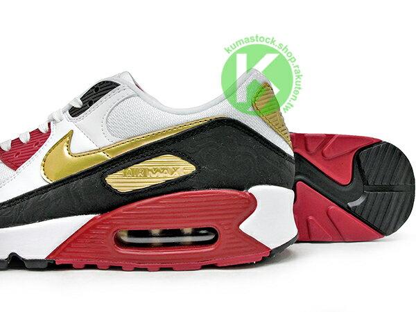 2020 經典復刻慢跑鞋 鼠年 農曆年 NIKE AIR MAX 90 白黑紅金 CNY 中國風 網面 皮革 大氣墊 慢跑鞋 (CU3005-171) 0220 3