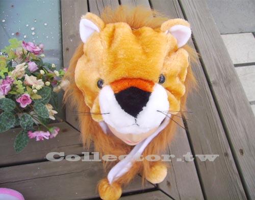【M13102501】長毛獅子帽 動物造型帽 毛絨玩具帽 冬天熱賣 DJ表演頭套