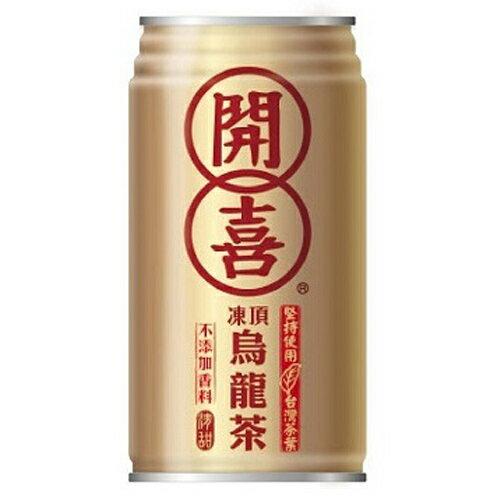 開喜 凍頂烏龍茶-有糖 340ml (24入)/箱