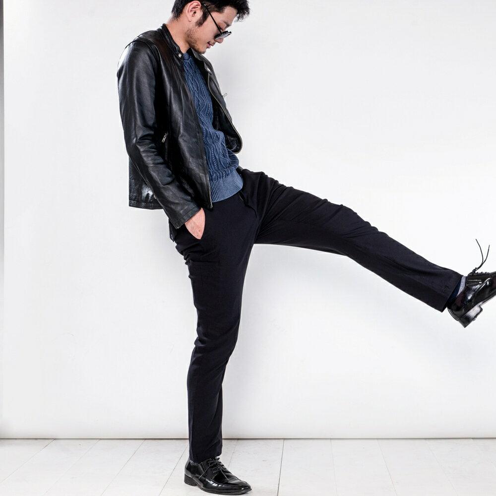 極致黑八口袋商旅紳士褲 MANHATTAN BLACK 8 POCKETS 4
