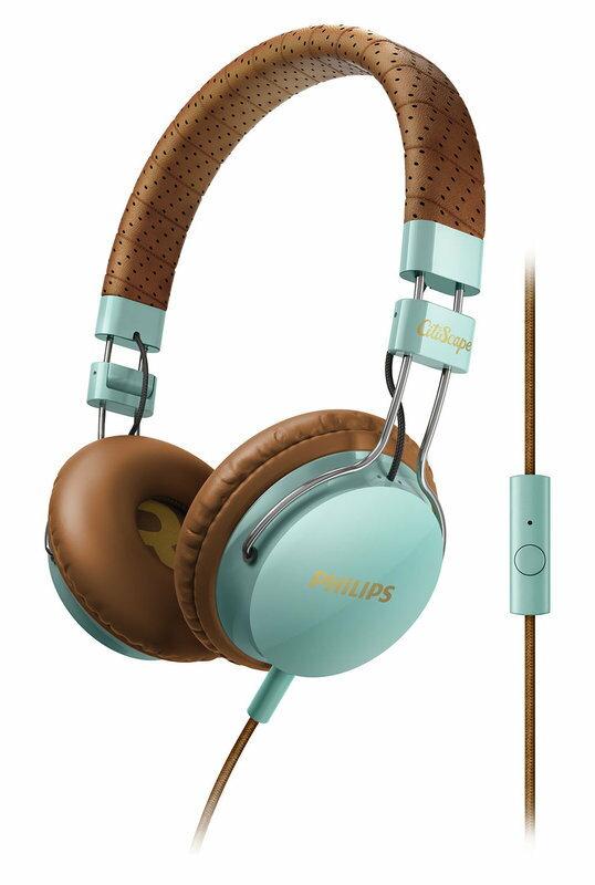 【迪特軍3C】PHILIPS 飛利浦 CitiScape SHL5505 GB 密閉式耳機 耳機麥克風 藍綠色