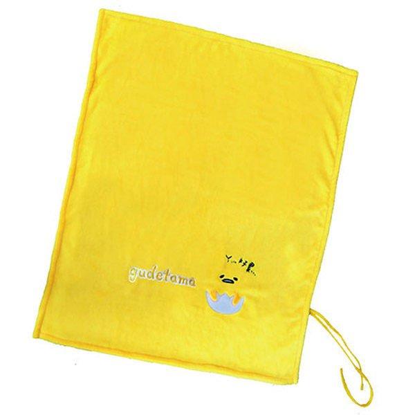 蛋黃哥造型捲毯 刷毛毯 保暖被 懶人毯子 冷氣毯 被子 造型毯 毯被 台灣製#3【櫻桃飾品】【20877】
