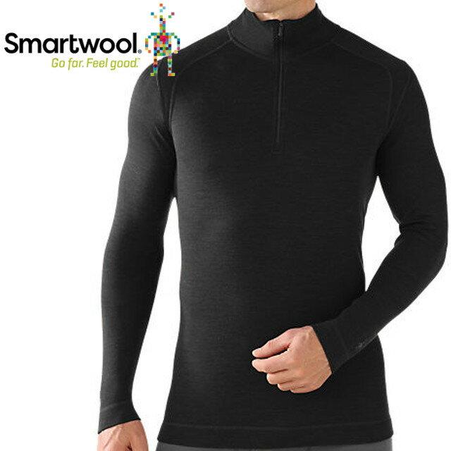 Smartwool/排汗衣/保暖/內搭衣/出國/旅遊/背包客/滑雪/聰明羊/美麗諾羊毛 高領毛衣 SS603 001 黑色男款