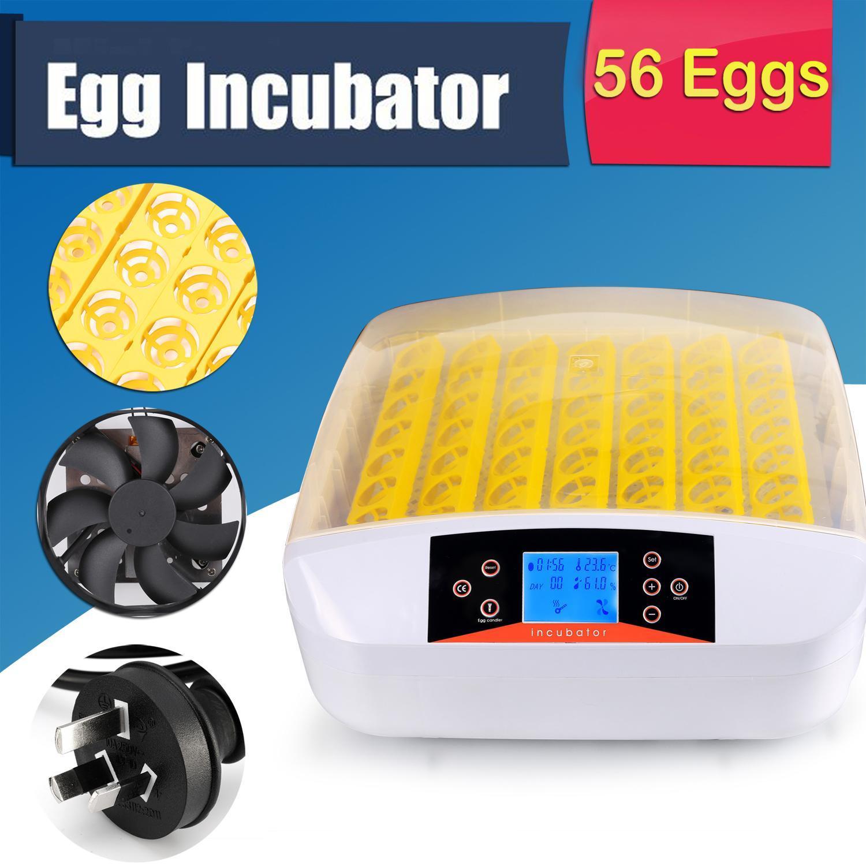 Intelligent Automatic Digital Hatching 56 Eggs Incubator Chicken Duck Egg Hatcher 0