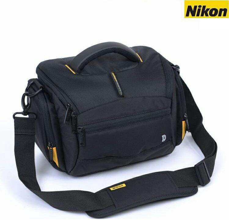 攝彩@Nikon流線包,一機二鏡 1機2鏡 側背 附防雨罩 防水 單眼 類單眼適用 Nikon流線款相機包