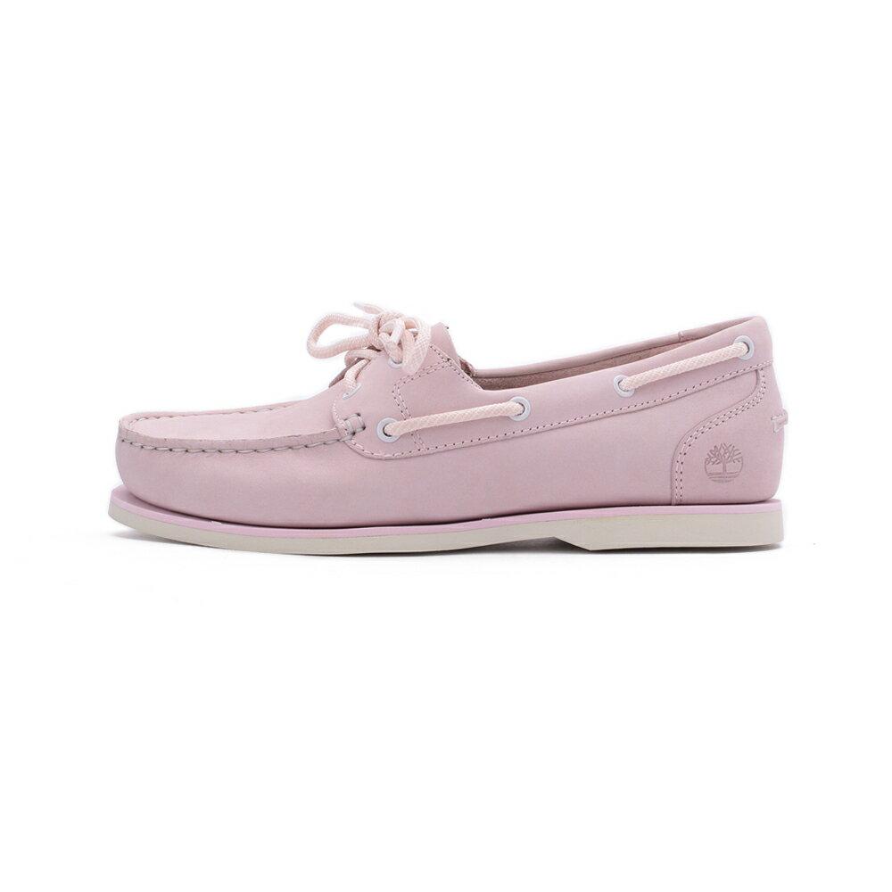 【免運】TIMBERLAND 磨砂革戶外休閒鞋 粉 A27UT 女鞋