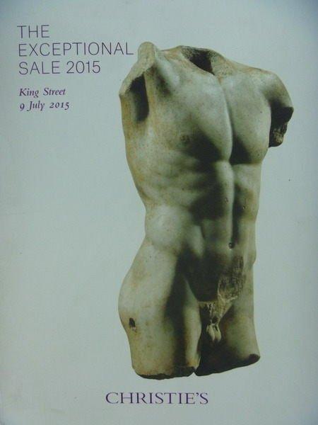 ~書寶 書T4/收藏_XBV~Christies_The Exceptional Sale