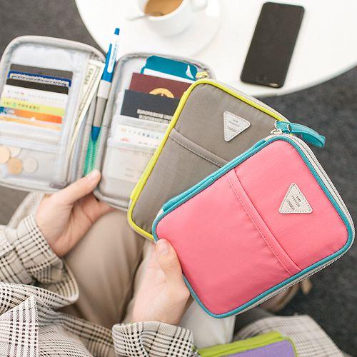 多功能出國旅行證件護照包 機票護照夾 防水收納包 護照保護套