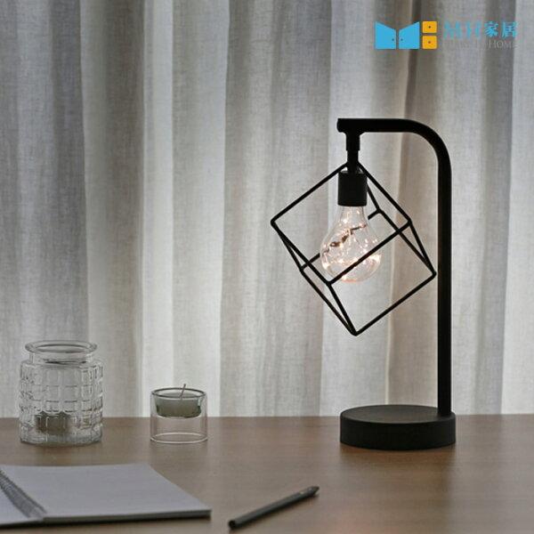 LED小夜燈工業風床頭燈氣氛燈韓國麥肯琪LED夜燈(方塊造型)MH家居