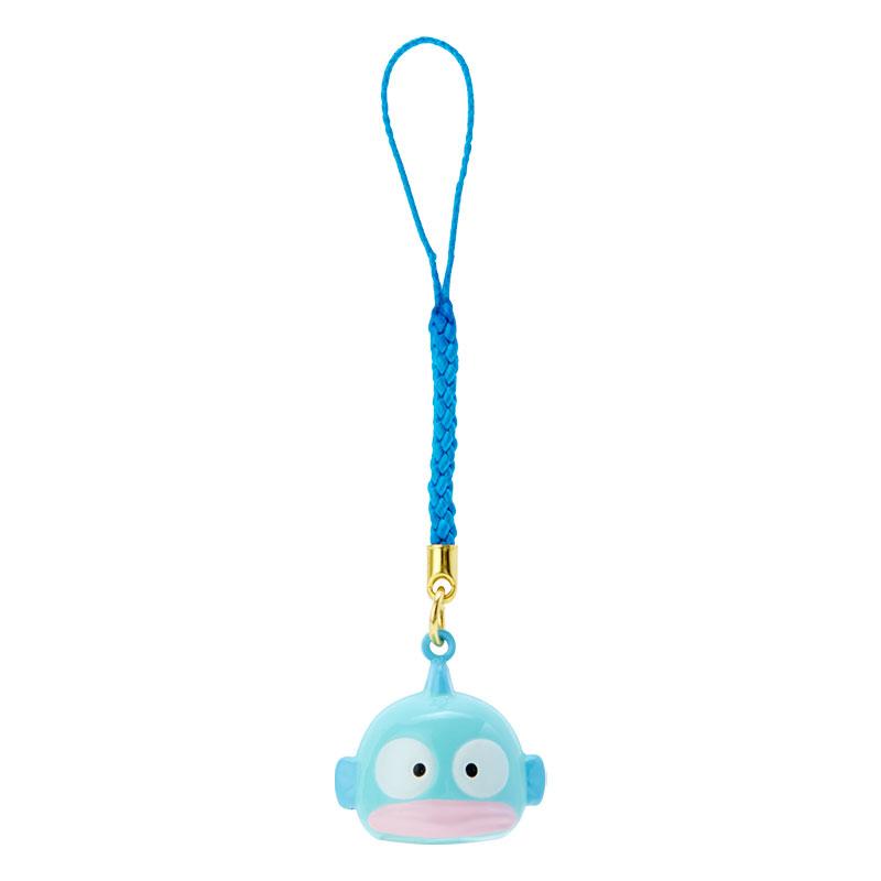 【積文館】造型鈴鐺吊飾 日本進口 人魚漢頓 Hangyodon 手機吊飾 鑰匙圈 掛飾(2.5*2.3cm)