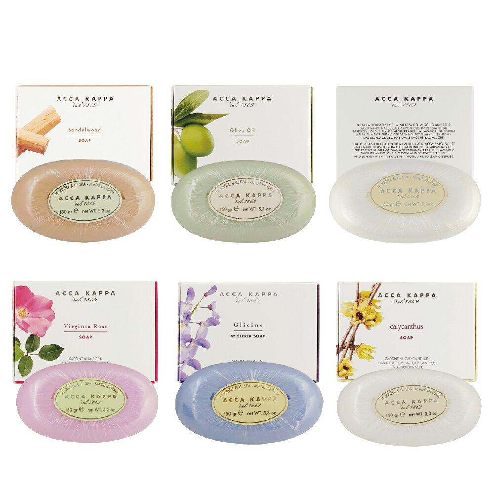 Acca Kappa 白麝香 檀香 橄欖油 玫瑰 紫藤花 威尼斯花園 香皂 香氛皂 150g