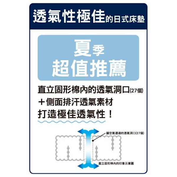 ★日式床墊 立體透氣 NITORI宜得利家居 6