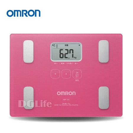 OMRON 歐姆龍 體脂計 HBF-216 粉紅色 新品上市!限時優惠!!