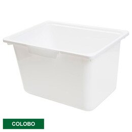 COLOBO收納盒 深型 WH 白 NITORI宜得利家居