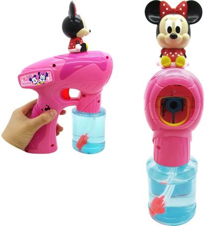 米妮音樂泡泡槍 迪士尼 泡泡 玩具 日貨 正版授權 J00013717