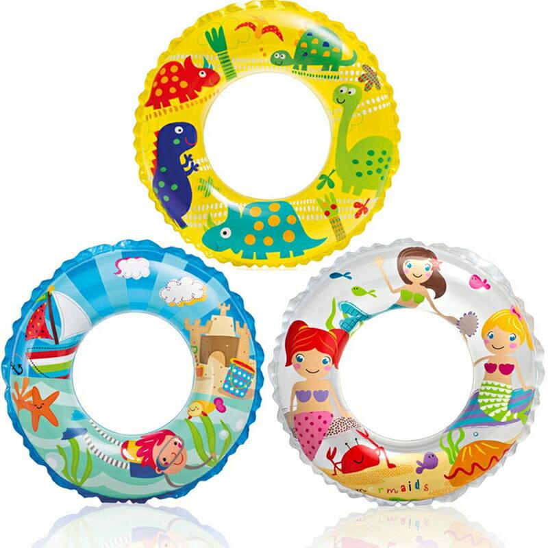 6~10歲 兒童充氣游泳圈 泳池浴缸玩水學游泳 橘魔法Baby magic  泳圈~p00