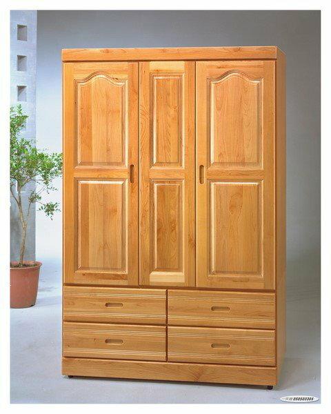【石川家居】GH-818 赤陽木木心板4*6尺衣櫃 (不含其他商品) 需搭配車趟費