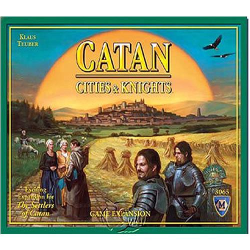 【新天鵝堡桌遊】卡坦島騎士擴充 Catan : Cities & Knights Expansion - 2007英文新裝版