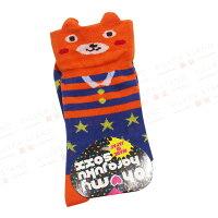 愚人節 KUSO療癒整人玩具周邊商品推薦【銀站】日本Oh my harajuku soxx 馬戲團熊造型襪(隨機五入裝)